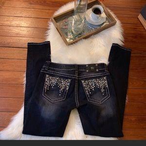 Sequined pocket miss me jeans!